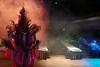 Der Kirchweihstrauß im Disko-Nebel