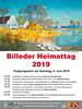 Plakat mit den Veranstaltungen am Heimattag