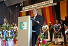 Josef Prunkl, Vorsitzender des Landesverbandes Baden-Württemberg der Landsmannschaft der Banater Schwaben während seiner Ansprache