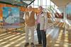 Ehrengäste Peter Weber und Hans Mathis - ihre Eltern sind 1944 vor der roten Armee in den Westen geflüchtet