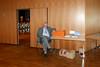 Jakob Muttar verbringt den Tag an der Spendenkasse - ein Job der sicherlich Durchhaltevermögen abverlangt