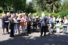 Der Banater Chor unter der Leitung von Ortwin Meinhardt sang die Lieder - Wohin soll ich mich wenden? - Näher mein Gott zu Dir - Glocken der Heimat