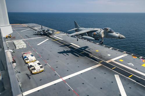 """Turpinās starptautisko militāro mācību """"Baltops 2019"""" aktīvā fāze Baltijas jūrā un Ādažu poligonā"""