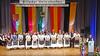 Werner Gilde eröffnet die Festveranstaltung in der Badnerlandhalle