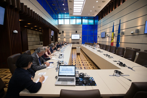 14.06.2019 Întrevederea Președintelui Parlamentului Zinaida Greceanîi cu Ambasadorii statelor UE acreditați la Chișinău