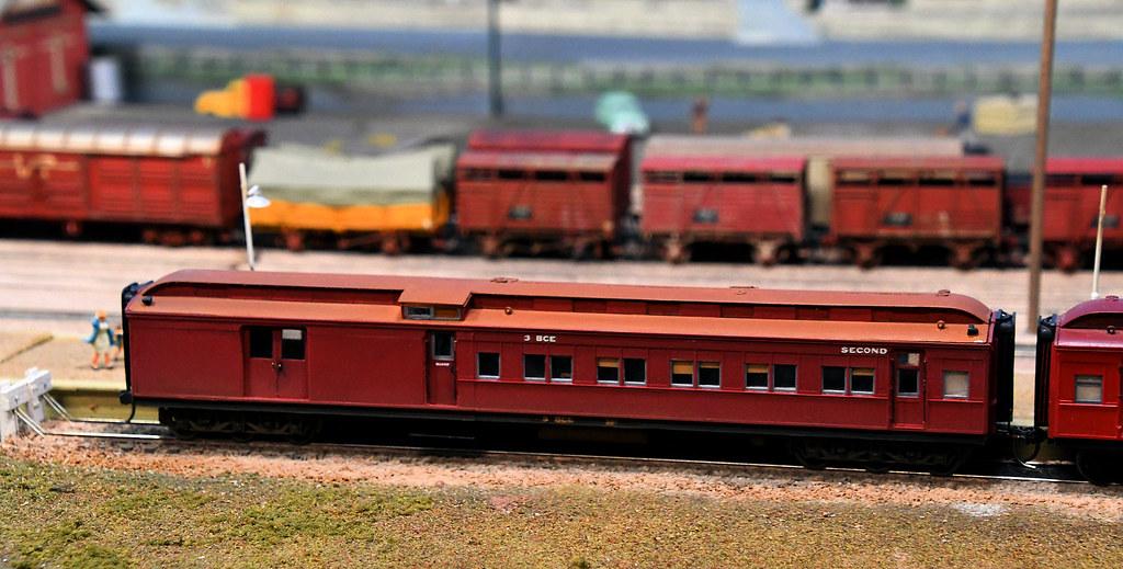 BCE, Maryborough Layout, Epping Model Railway Exhibition, Rosehill, Sydney, NSW.