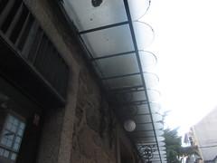 Decorative eaves, Ferrol, Galicia