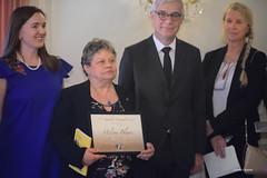 Remise du Prix Nathalie Pasternak à Hélène Blanc en présence du Sénateur Hervé Maurey