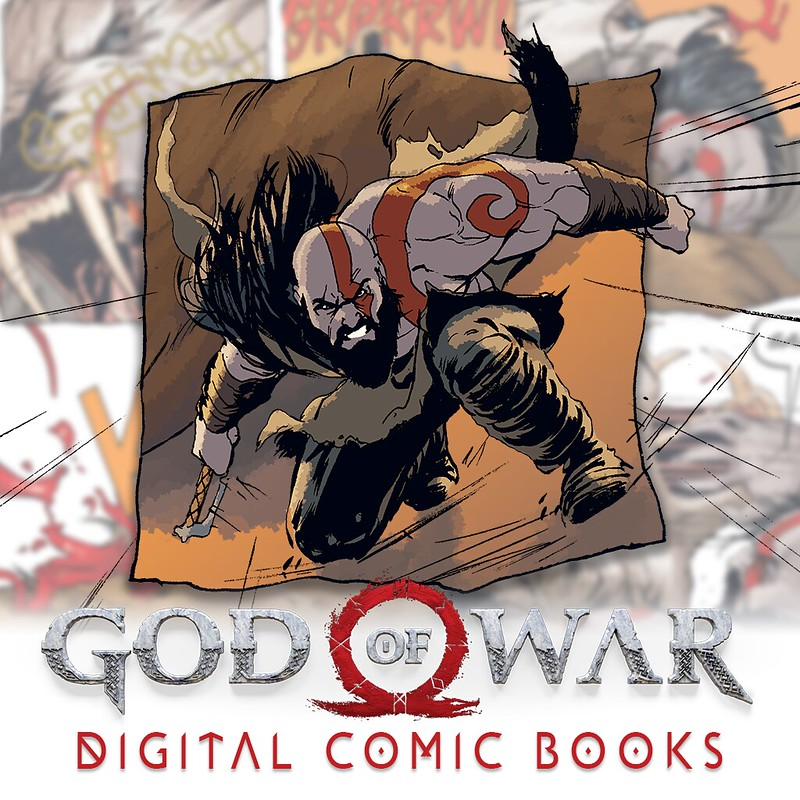 Thumbnail of 	God of War Comic Book 1	 on PS4