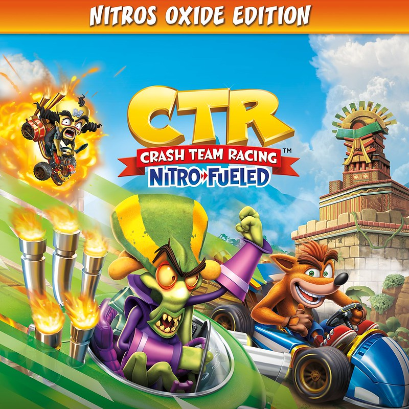 Thumbnail of Crash Team Racing Nitro-Fueled - Nitros Oxide Edition on PS4