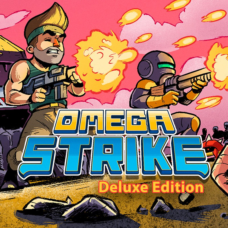 Thumbnail of 	Omega Strike Deluxe Edition	 on PS4