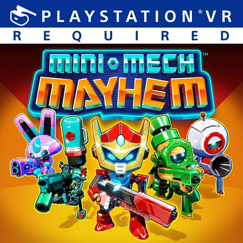 Thumbnail of Mini-Mech Mayhem on PS4