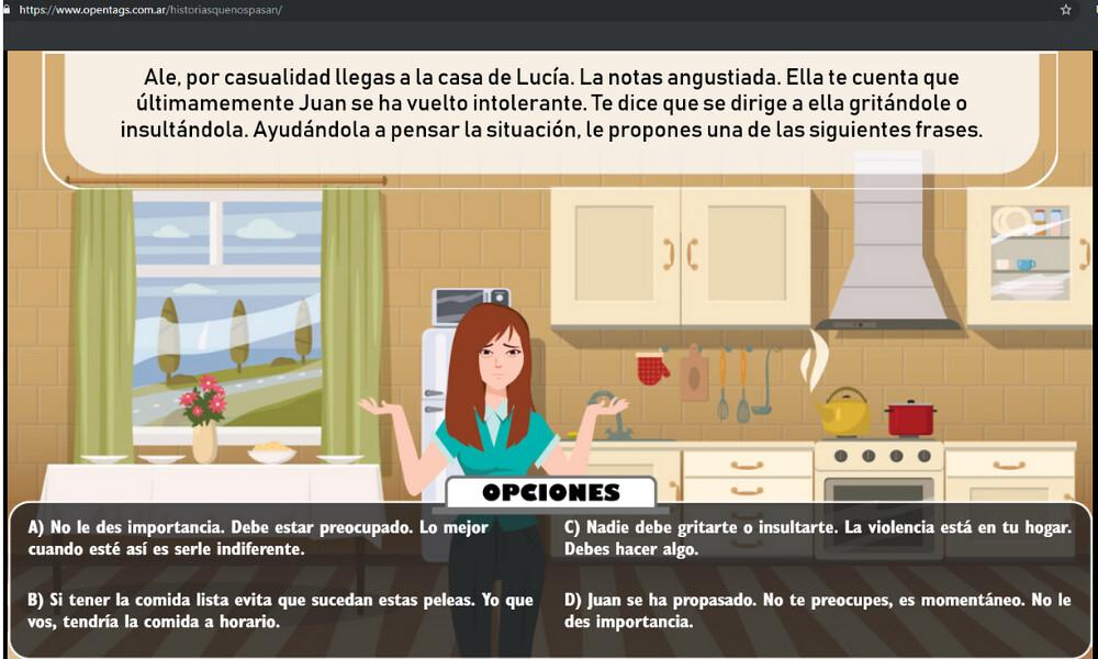 """2019-06-14 PRODUCCIÓN: """"Historias que nos pasan"""", la nueva aplicación web sobre violencia de género del Gobierno de San Juan"""