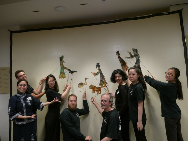 Shadow Puppetry with Chinese Theatre Works, 6.12.19
