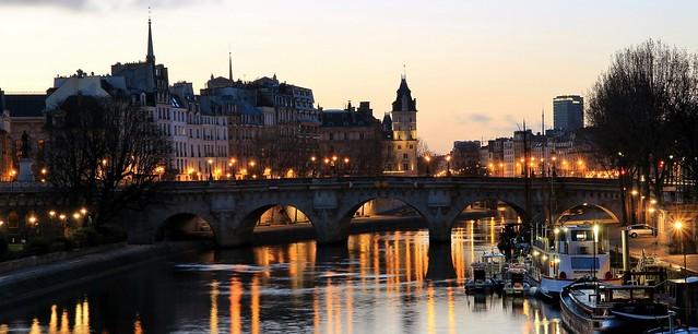 pont Neuf & quai des Orfèvres, île de la Cité