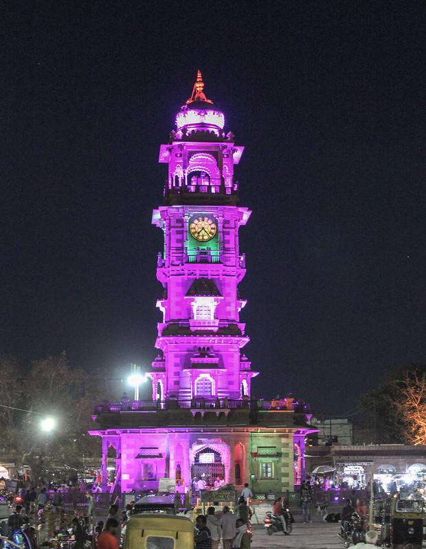Ghanta Ghar: Clock Tower, Jodhpur, Rajasthan