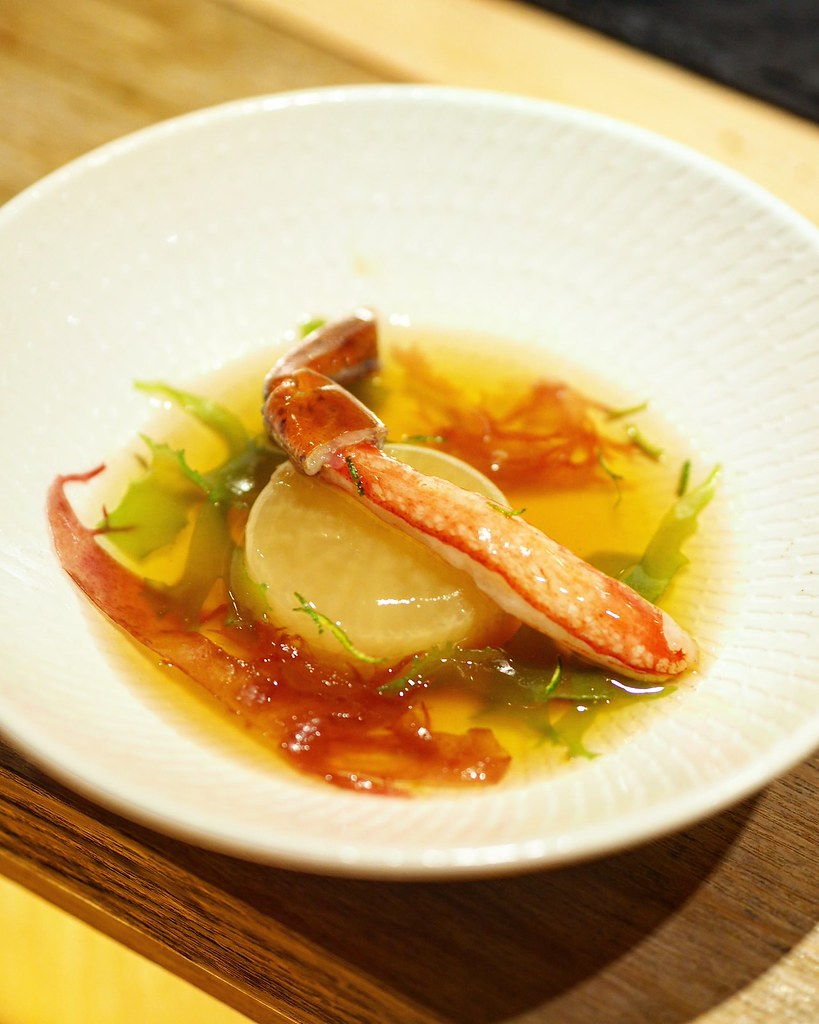 Snow Crab in Dashi Broth