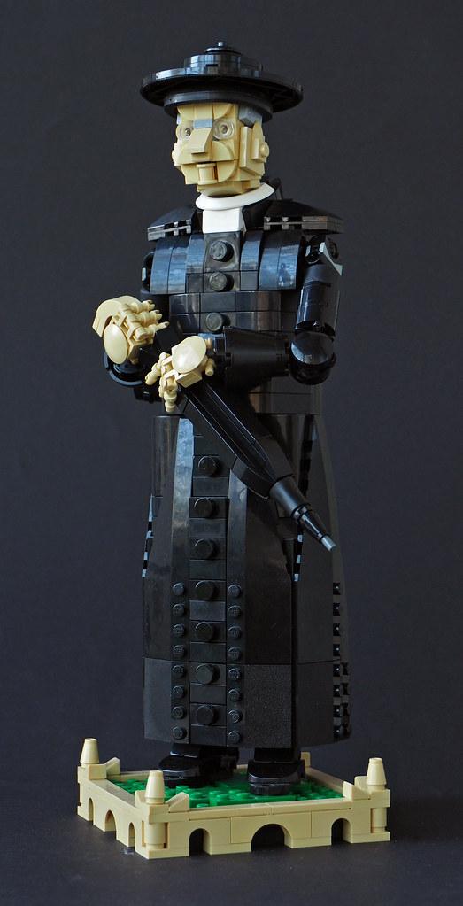 Father Brown (custom built Lego model)