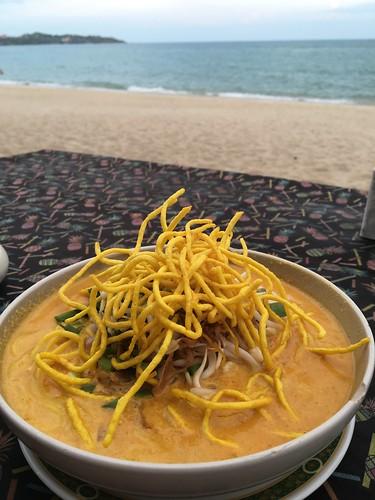 コサムイ ラマイビーチ バンブーレストラン Bamboos Restaurant Lamai Beach