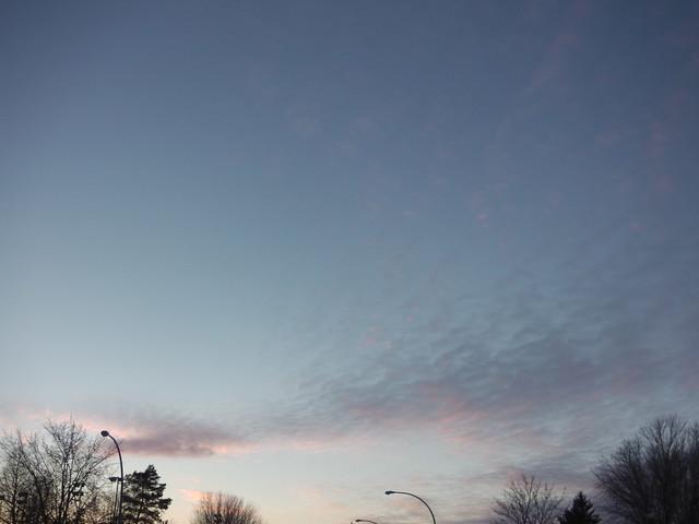 ** Un ciel inspirant...**