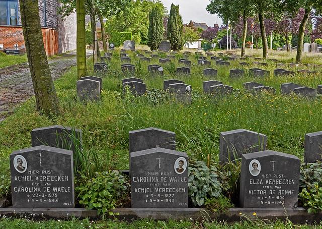 Slachtoffers van het geallieerde bombardement van 5 september 1943