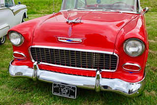 Red classic Chevy