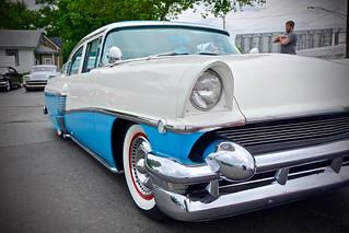Blue & White Ford
