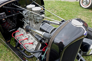 Ford Hot Rod engine