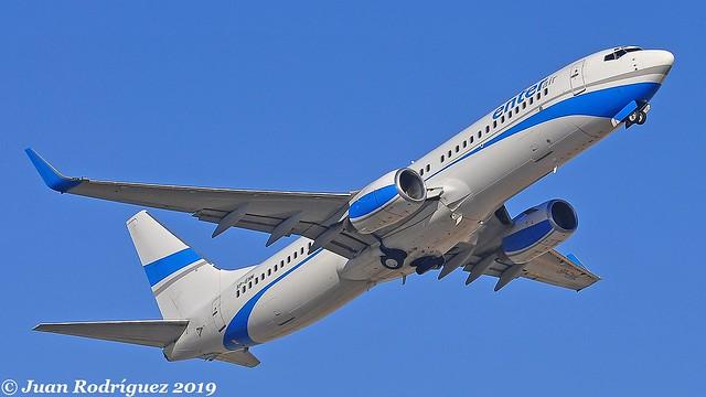 SP-ENM - Enter Air - Boeing 737-8CX (WL) - PMI/LEPA