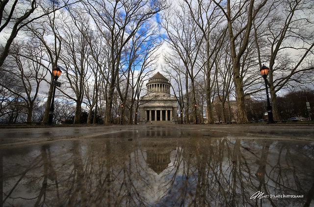 Winter at Grants Tomb