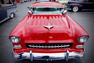 Custom Red Chevy