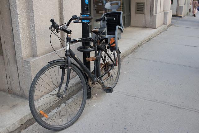 Biking in Montreal