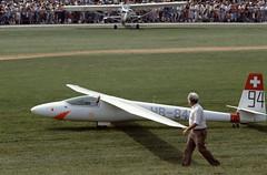 Neukom Elfe S3 glider at the 1985 Bex Airshow (CH).