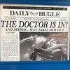 This feels like a surprisingly pro-Spider-Man headline for the Daily Bugle #universalstudios #universalstudiosorlando #islandsofadventure #spiderman #doctoroctopus #dailybugle #newspapers #headlines
