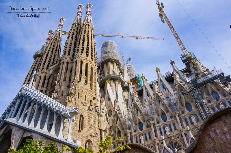 2018 Spain Barcelona La Sagrada Familia 08