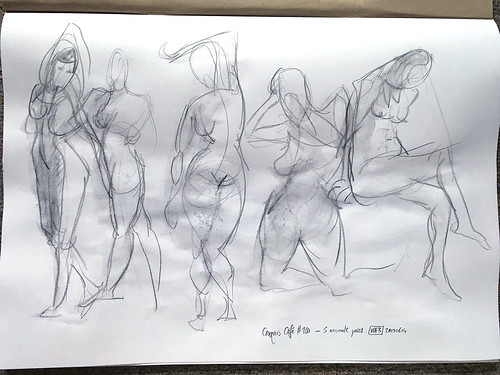 Croquis Cafe #200 - 1 minute poses