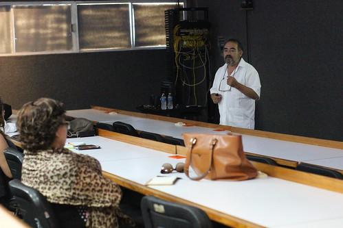 """Profesores de la FADU reciben curso de capacitación sobre la """"Cultura y Arquitectura de la Huasteca prehispánica""""."""
