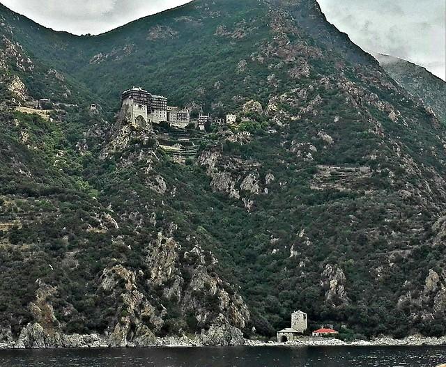 Athos Monastery Simonos Petras