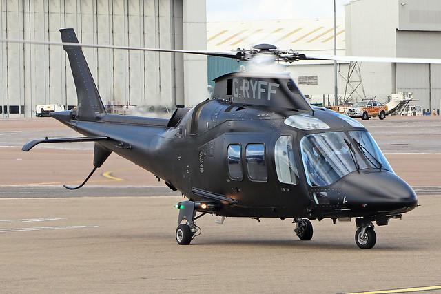 G-RYFF  -  Agusta-Westland AW-109SP GrandNew  -  Private  -  LTN/EGGW 14-6-19