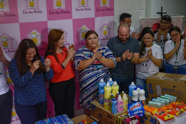 14.06.19 Prefeitura entrega doações para o Lar das Marias