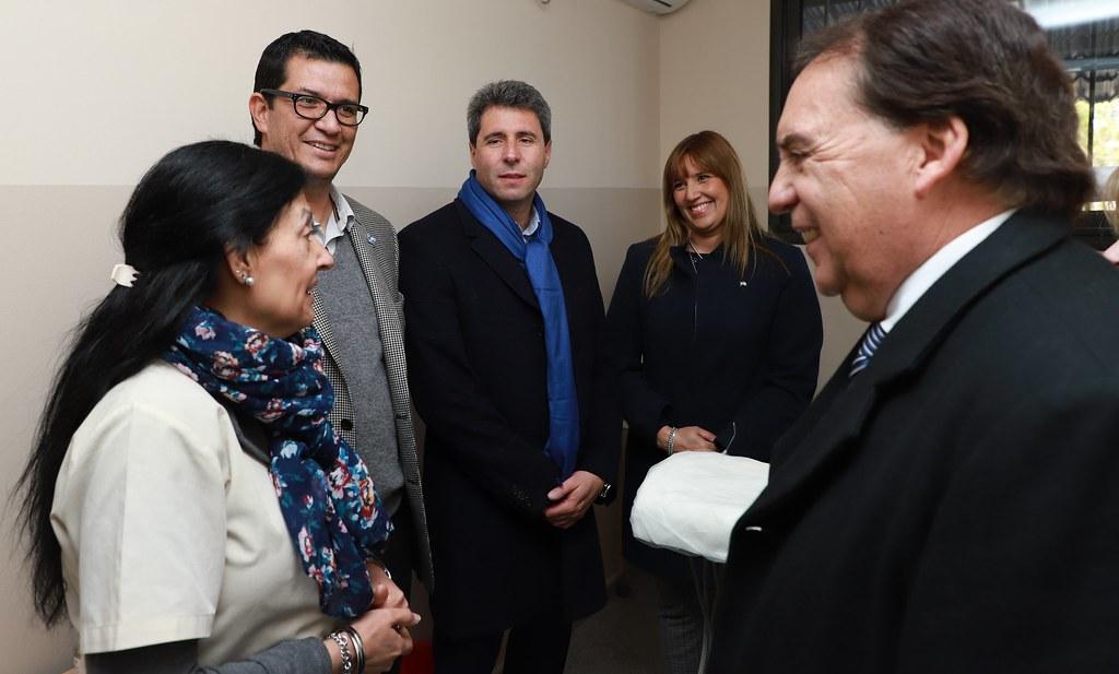 2019-06-14 PRENSA: Uñac inauguró obras de refacción, refuncionalización y ampliación el Centro de Atención Primaria Las Lomitas en Albardón