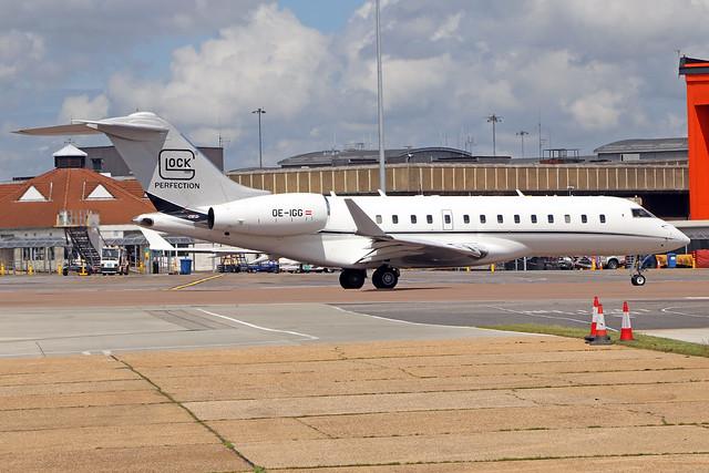 OE-IGG  -  Bombardier Global 6000  -  Private  -  LTN/EGGW 14-6-19