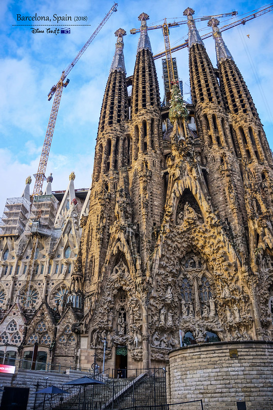 2018 Spain Barcelona La Sagrada Familia 02