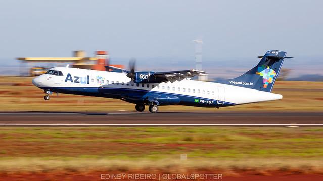 ATR-72/600 (PR-AQT) AZUL AIRLINES | MARINGA | MGF-SBMG