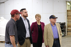 Reps. Simanski, Davis and Zawistowski toured the Thrall Family Malt House in Windsor. The Thrall family is now in its 12th generation of farming. They began their malt business in 2017 to supply a growing demand from local and craft breweries.