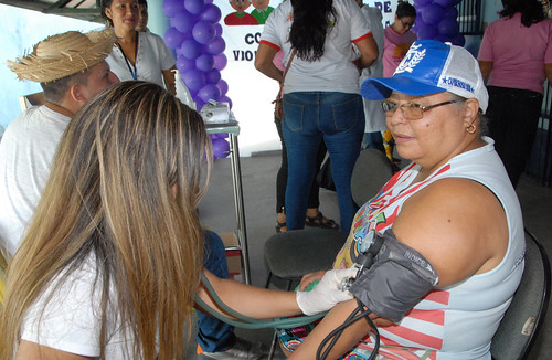 14.06.19 Atividades de cidadania encerram a Semana de combate à violência contra a pessoa idosa.