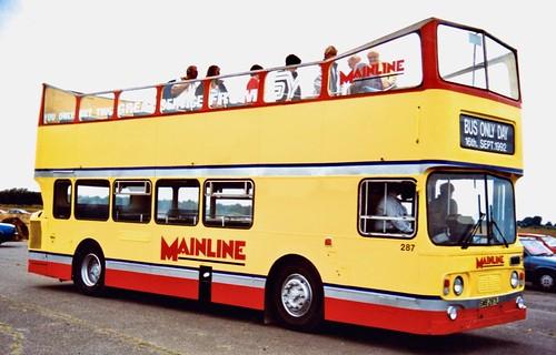 SWB 287L 'South Yorkshire's Transport Ltd.' No. 287 'Mainline'. Leyland Atlantean AN68 / Alexander /2 on Dennis Basford's railsroadsrunways.blogspot.co.uk'