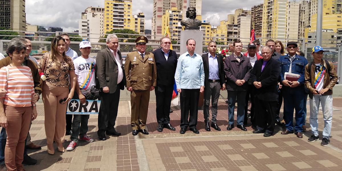 Embajada de Cuba en Venezuela conmemora 91 aniversario del Natalicio del comandante Ernesto Che Guevara