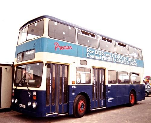 CWG 762V VET 611S 'South Yorkshire Transport Ltd.' No.1762 'Premier' Leyland Atlantean AN68 / Roe on Dennis Basford's railsroadsrunways.blogspot.co.uk'