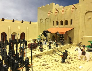 "GoT - ""Unsullied! Slay the masters,...  (Season3/EP4)   Finally I have finished my favorite scene from Game of Thrones and im happy with the MOC. 